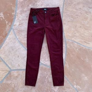 Paige Hoxton Ultra Skinny Jeans in Dark Currant